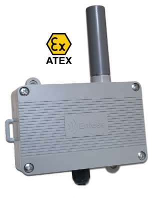 Enless Wireless Metering Transminitter 169MHz Atex
